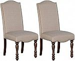 Set of 2 Ashley Furniture Signature Design Baxenburg Dining Room Chair $64.67