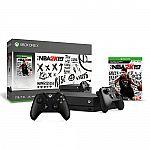 Xbox One X 1TB NBA 2K19 Bundle + Extra Xbox Wireless Controller $379.99
