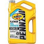 Pennzoil Platinum 5 QT jugs $3 (After Pennzoil rebate and Autozone rebate card)