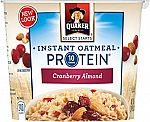 12-Pack Quaker Instant Oatmeal Express Cups $10.76