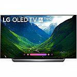 "55"" LG OLED55C8P 4K UHD AI Smart OLED HDTV $1242, LG OLED65C8PUA 65"" OLED $1992"