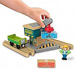 Fisher-Price Thomas & Friends Wood, Spin & Lift Crane $8.49
