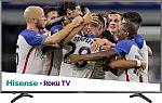 """Hisense 55"""" LED R7 Series 2160p Smart 4K Roku TV $300"""