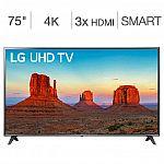 """LG  (UK6190PUB) 75"""" Class 4K UHD LED LCD TV $980"""