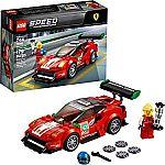 """LEGO Speed Champions Ferrari 488 GT3 """"Scuderia Corsa"""" 75886 $11.99, LEGO Speed Champions Ford Fiesta M-Sport WRC 75885 $12.99"""