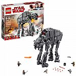 LEGO Star Wars Episode VIII First Order Heavy Assault Walker 75189 (1376 Piece) $99.99 (orig. $150)