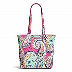 Vera Bradley Iconic Tote Bag $28 (50% Off) & More + Free Shipping