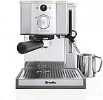 Breville ESP8XL Cafe Roma Stainless Espresso Maker $160