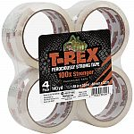 4-Pack T-Rex Packaging Tape $4 (Org $15)