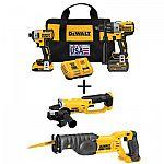 DEWALT 3-Speed Hammerdrill, Impact Driver & Charger + Two free DEWALT Tools or Batteries $379