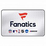 2 x $50 Fanatics eGift Card (Email Delivery) $69.99 (Costco)