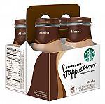 20-Pack Starbucks Frappuccino Drink Glass Bottles (9.5oz) $25 + Get $10 Target Gift Card