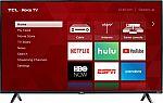 """TCL 49"""" LED 3 Series 1080p Smart HDTV Roku TV $200"""