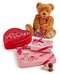 Bonus $19.99 Valentine's Day Bear with $25 Godiva Purchase