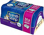 4-lbs Fresh Step Multi-Cat Clumping Cat Litter (Febreze Scent) $12.23
