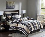 Designer Living 7-Piece Madison Park Samara Cotton Comforter Set (king) $30, 10-Piece Bombay McCord Jaquard Bedding Set (king) $35 & More