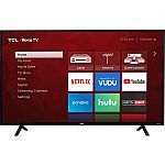 "TCL 43"" Class 4K UHD Roku Smart TV - 43S403 $199, TCL 49"" 4K UHD Roku Smart TV $269"