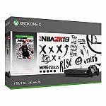 Xbox One X 1TB NBA 2K19 Bundle: $299.99