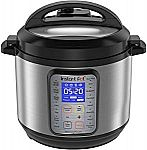 Instant Pot DUO Plus 60, 6 Qt 9-in-1 Multi- Use Programmable Pressure Cooker $80 (Org $130)