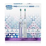 Oral-B Pro Advantage 8000 Rechargeable Toothbrush (2 pack) $90