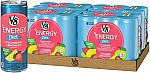 24-Can V8 +Energy, Juice Drink with Green Tea, Diet Strawberry Lemonade, 8 oz. Can $10.59