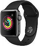 Apple Watch Series 3 (GPS, 38mm) $199