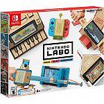 Nintendo Switch Labo Variety Kit $30, Labo Robot Kit $30