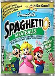 12-Pack 15.6oz SpaghettiOs Super Mario Bros Shaped Pasta w/ Meatballs $8.80 or Less