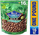 16.0oz Blue Diamond Bold Almonds Wasabi & Soy Sauce $4.99 and more