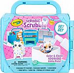 Crayola Scribble Scrubbie Pets Vet Animal Toy Set $8.92 & More