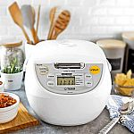 Tiger 5.5-Cup Micom Rice Cooker & Warmer $75 + Free Shipping