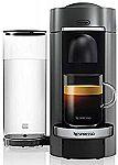 Nespresso ENV155T VertuoPlus Deluxe Coffee and Espresso Machine $95 (Org $199)