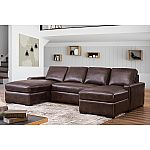 Abbyson Living Rochester 3-Piece Sectional Sofa $1299 (Save $1845)