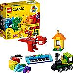 LEGO Classic Bricks and Ideas 11001 Building Kit, 2019 (123 Pieces) $7 (Reg. $10)