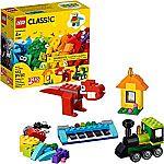 LEGO Classic Bricks and Ideas 11001 Building Kit, 2019 (123 Pieces) $6.09 (Reg. $10)