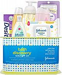 Johnson's Bath Discovery Baby Gift Set, 7 Items $15