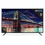 """55"""" TCL 55R613 4K UHD HDR Roku Smart LED HDTV $420"""