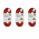3-Pack HDX 50 ft. 16/3 Light-Duty Indoor/Outdoor Extension Cord $7.85 & More