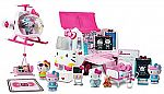 Hello Kitty Rescue Set (Helicopter & Ambulance Playset, Figures & Accessories) $20