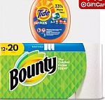 Buy 9 x 100oz Tide Original Liquid Laundry Detergent $108 + Get $45 Target Gift Card