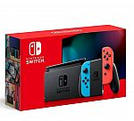 Nintendo Switch Version 2 Console with Neon Blue and Neon Red Joy-Con + $25 Target Gift Card $300