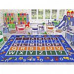 Ottomanson Jenny Collection Kids Area Rug Sale: from $21, (Alphabet Design, Traffic Design and more )