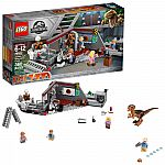 LEGO Jurassic World Jurassic Park Velociraptor Chase 75932 $26.88