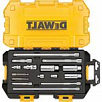 DEWALT 1/4 in. and 3/8 in. Drive Tool Accessory Set with Case (15-Piece) $17