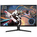 "32"" LG 32GK650G-B 2560x1440 QHD 144Hz G-Sync Gaming Monitor $349, 34"" LG 34GK950G-B $649"