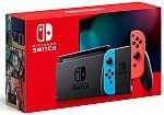 Nintendo Switch Version 2 Console + $25 Amazon Gift Card $299