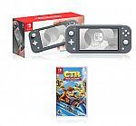 Nintendo Switch Lite Grey + Crash Team Racing - Nitro-Fueled $199.70