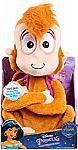 Disney Aladdin Chatterback Abu Stuffed Animal $5