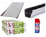 Up to 30% off Gutter Guards, Insulation, and Roofing Materials
