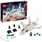 Target - 50% Off Select LEGO Sets (LEGO Super Heroes Marvel Spider-Man Stark Jet 76130 $35) and more